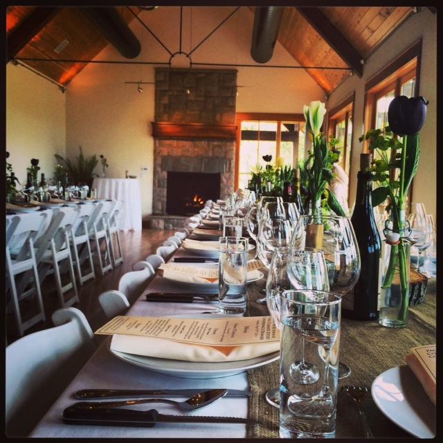 EVOO dining room for dinner