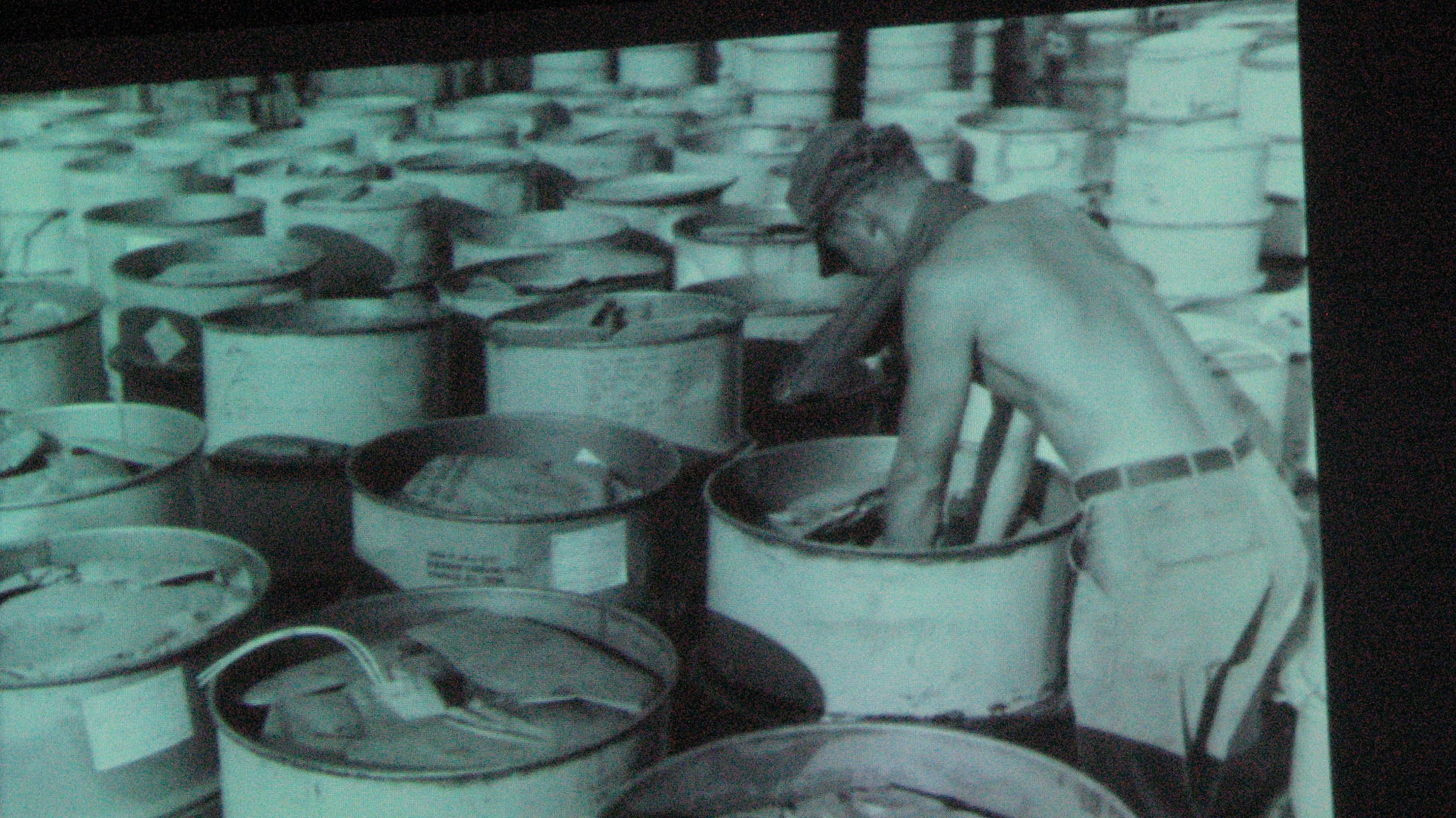 Drums Of Agent Orange From Video | Image from VVA Video