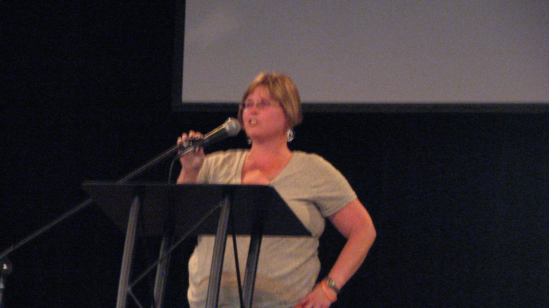 Stephanie Holybee Daughter of Veteran Ken Holybee| Photo by Tim Chuey
