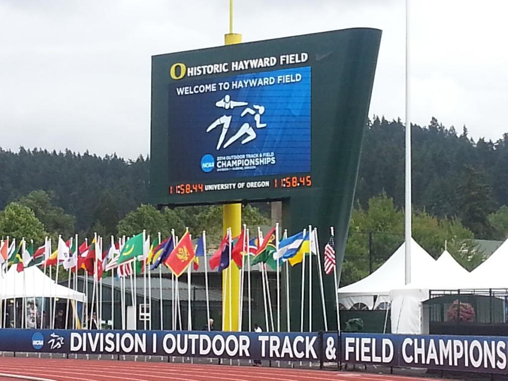 Hayward Field Hosts the 2014 NCAA Track and Field Championships. Justin Phillips/KPNWSports