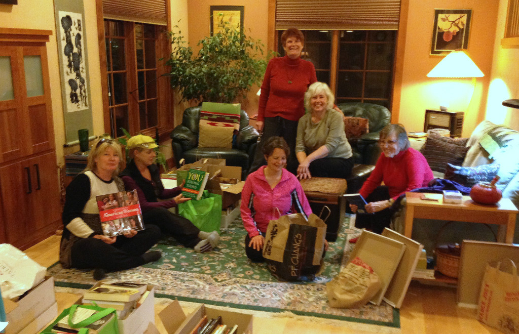 Book Sorting Soiree For Bothy Cottage | Photo by SI Eugene