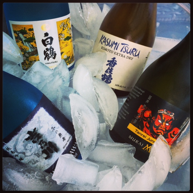 sake in ice