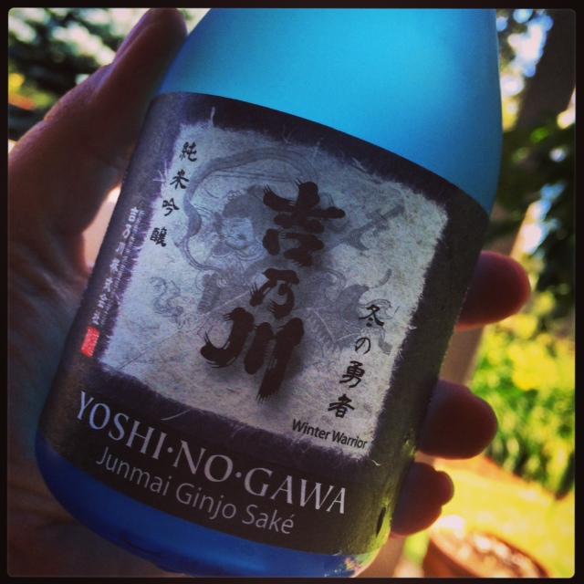 sake yoshi label