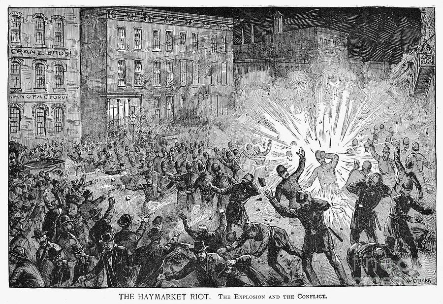 Hmarket Riot 1886 | Print by Granger fineartamerica.com