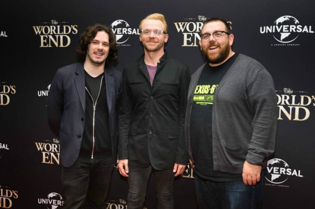 Edgar Wright, Simon Pegg, Nick Frost - fanpop.com