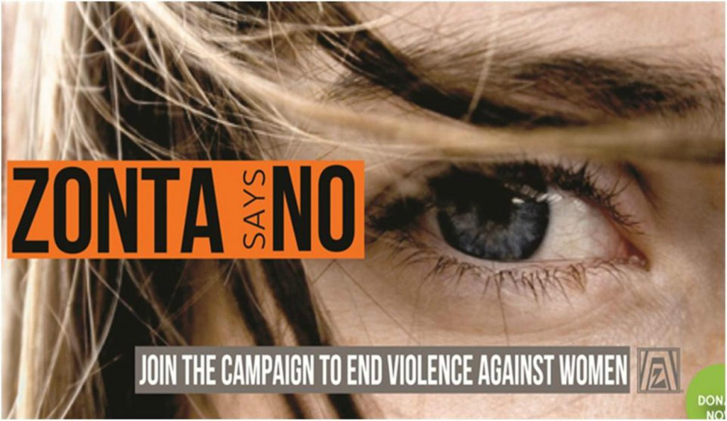 Zonta Says No Campaign To End Violence Against Women | Image by zontalondon.org