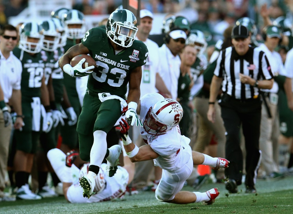The 100th Rose Bowl Game - Stanford v Michigan State