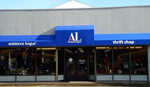 Thrift Shop Exterior