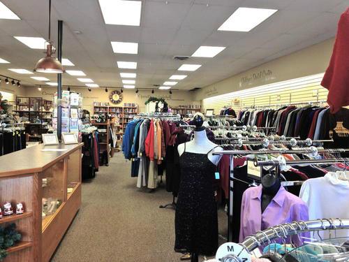 Thrift Shop Interior