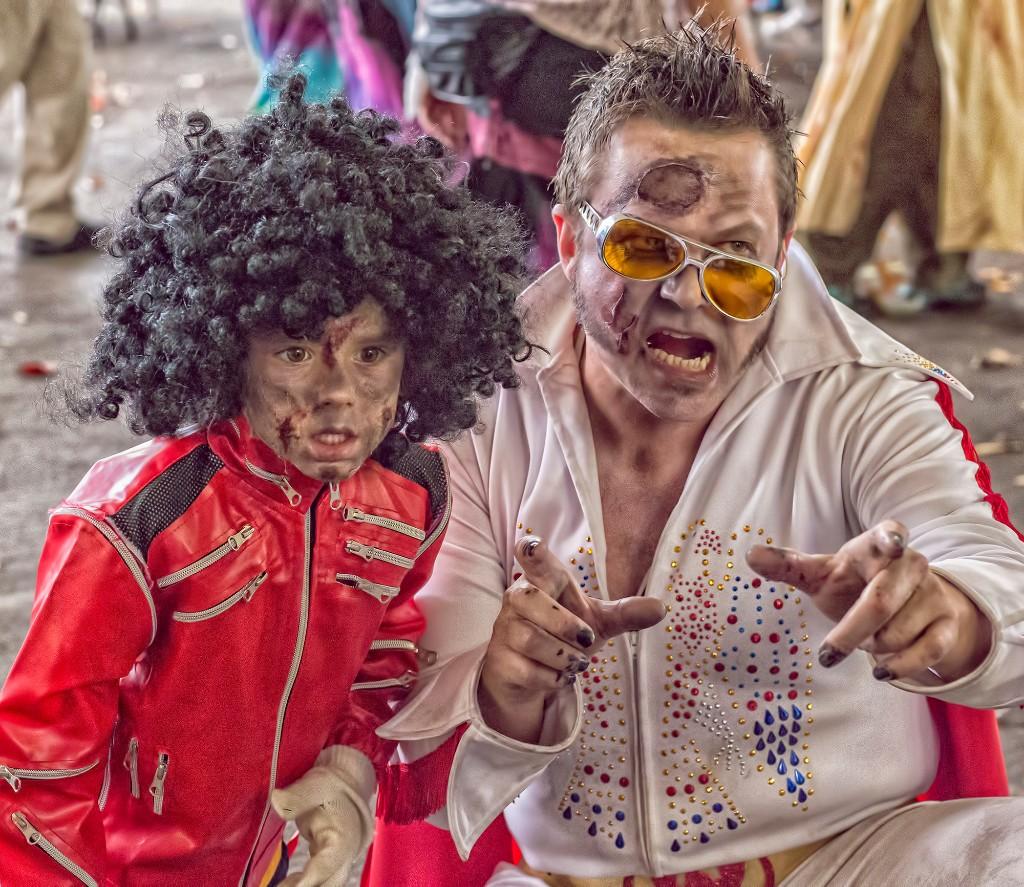 Elvis and Michael