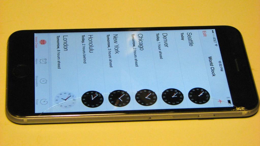 My Damaged iPhone