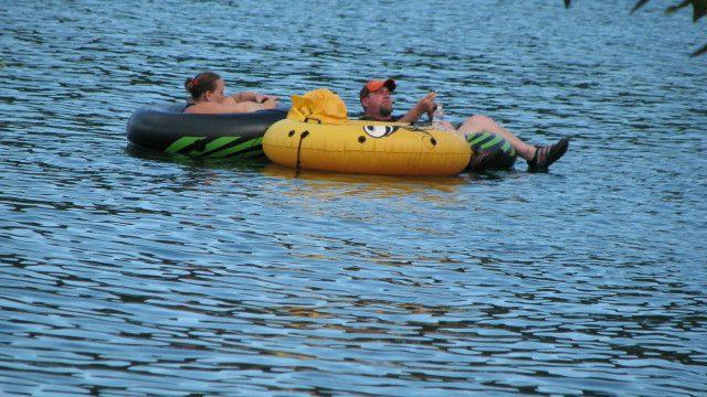 Relaxing On Dexter Lake