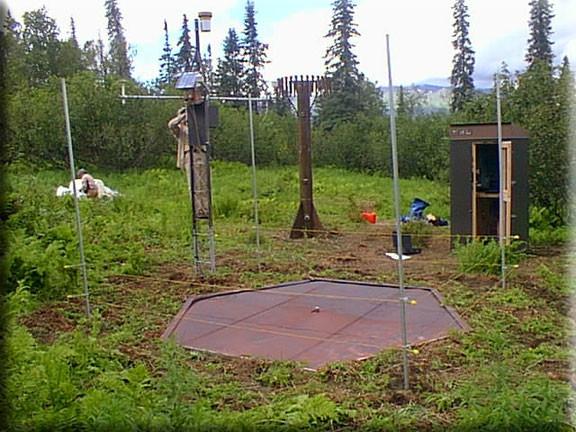 SNOTEL Remote station