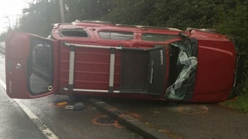 Coos Bay rollover fatality