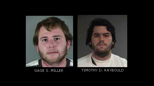 Florence arrest suspects Miller Raybould
