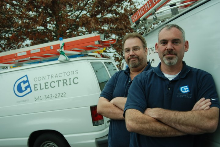 Steven Leuck and Jeff Brown - Contractors Electric