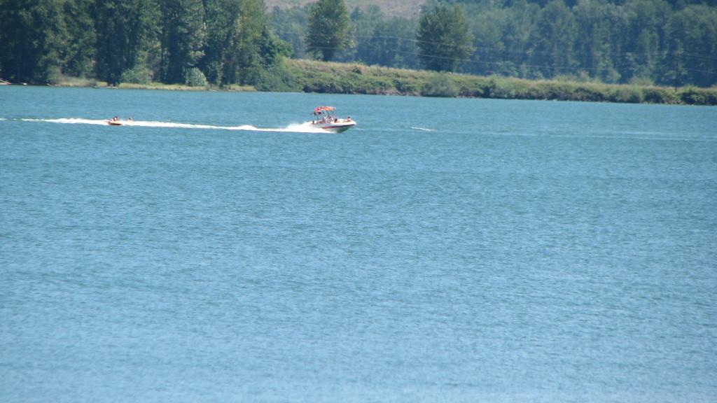 Dexter Lake With Algae Bloom