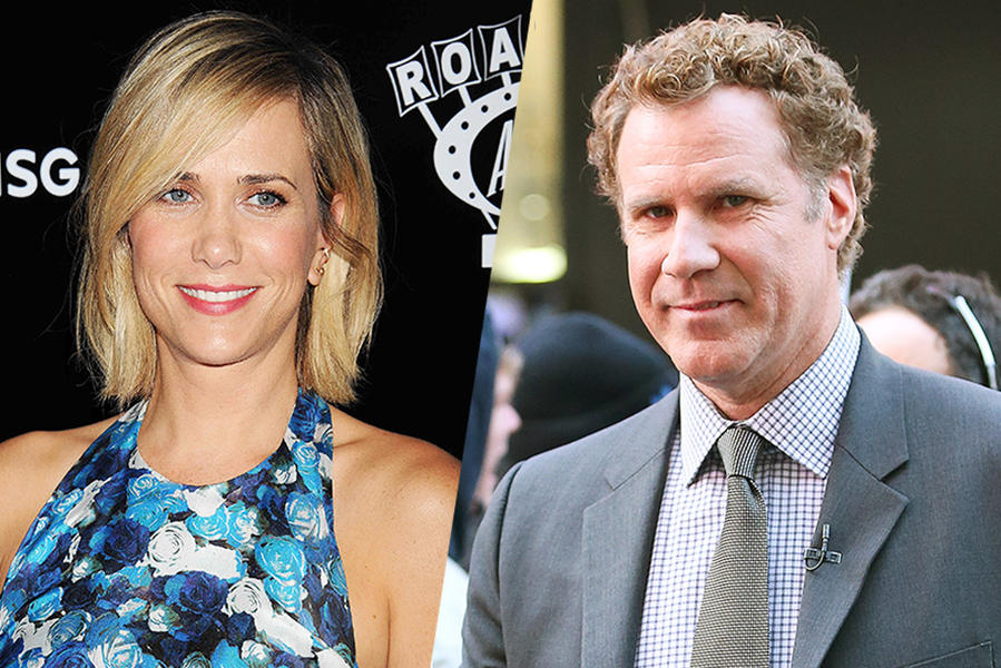 Will Ferrell and Kristen Wiig-tvguide.com