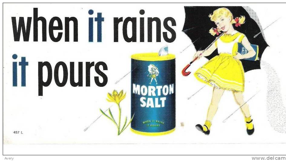 Morton Salt Poster