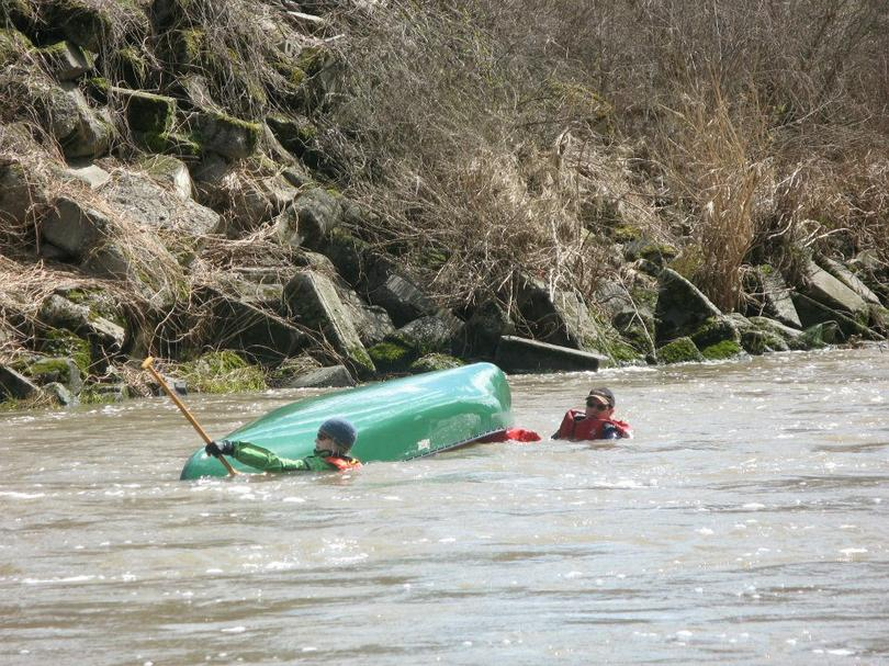Kayak Tipped Over