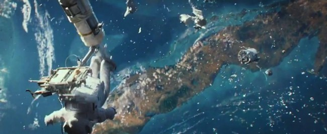 "Scene from ""Gravity"" | Image by www.creativescreenwriting.com"