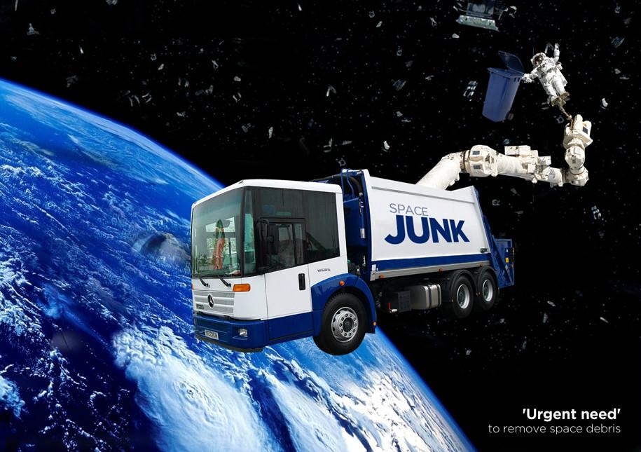 Urgent Need To Remove Space Debris | Image by ww.davidreneke.com