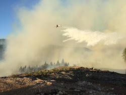 Cable Crossing Fire | wildfireoregondeptofforests.blogspot.com