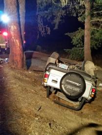 Gunnell Rd crash