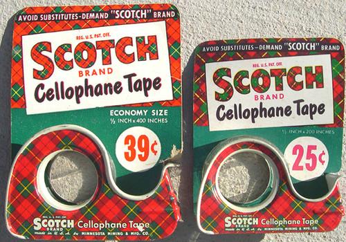Scotch Brand Cellophane Tape | Image by Gizmodo.com through 3M