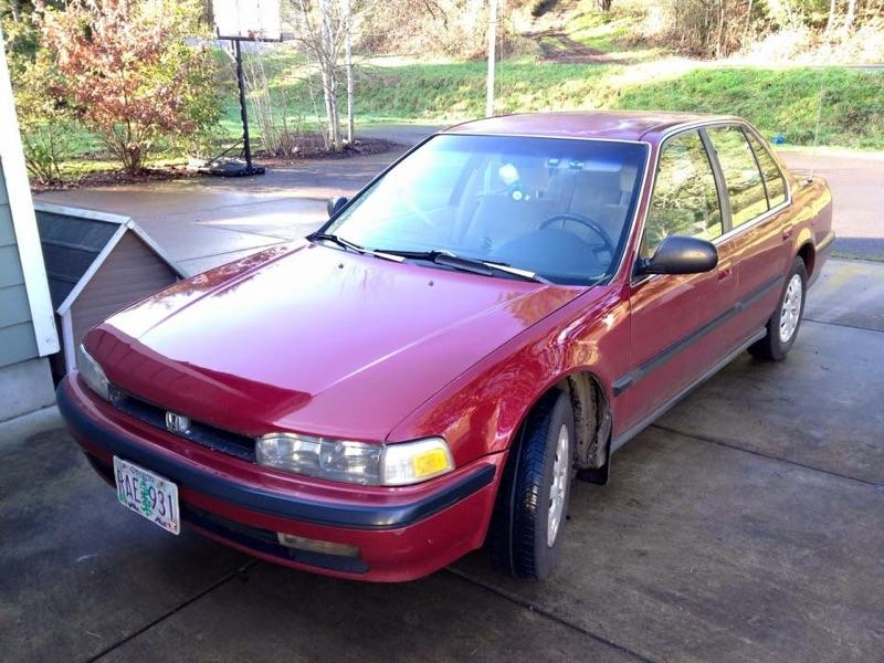 1990 Honda Accord OR lic RAE 931