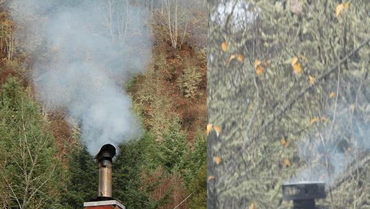 Levels of Chimney Smoke