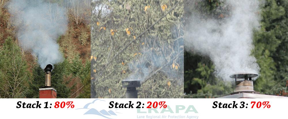 Levels Of Chimney Smoke   Image by LRAPA