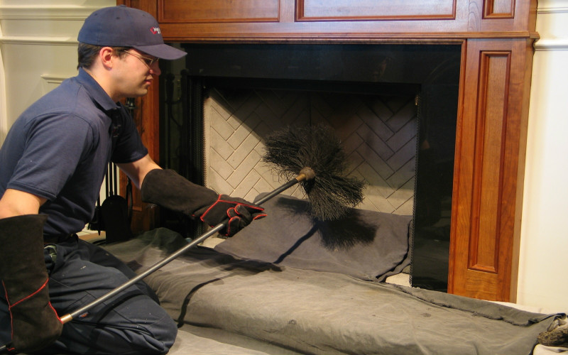 Chimney Sweep | Photo by carpetcleaningnorfolkva.net