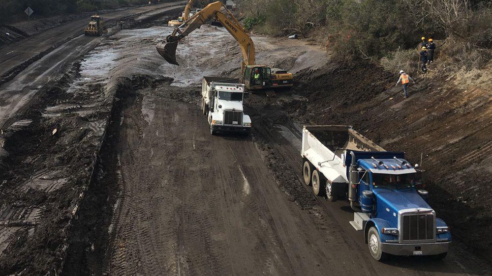 HWY-101 Mudslide