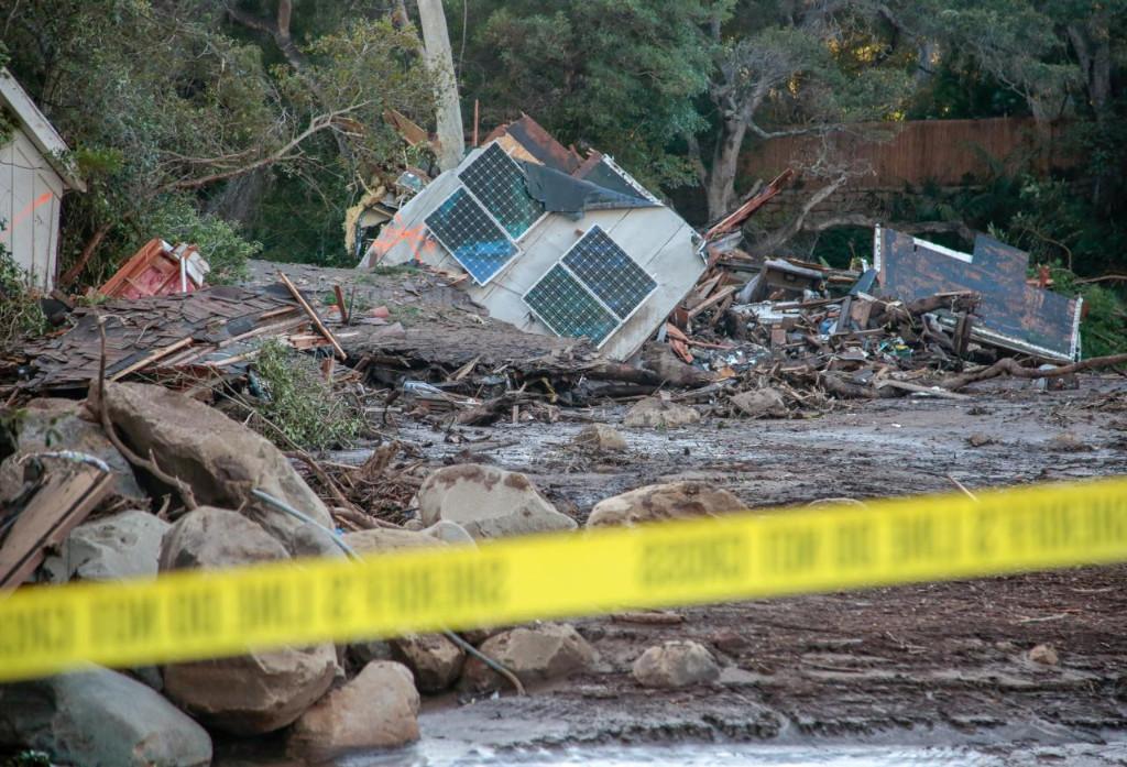 Montecito, CA Mudslide