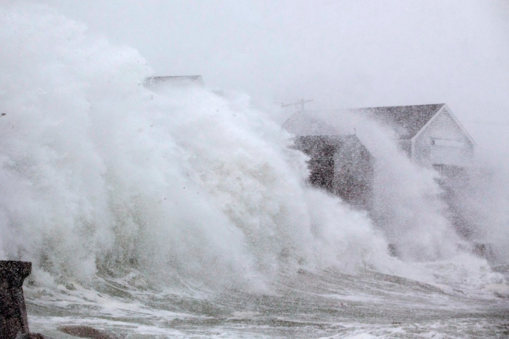 Seawall Breach