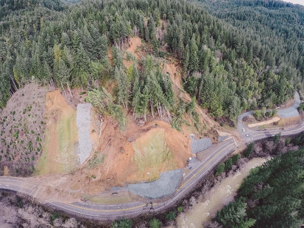 HWY-42 Landslide