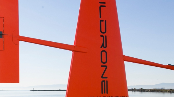 Saildrone Closeup