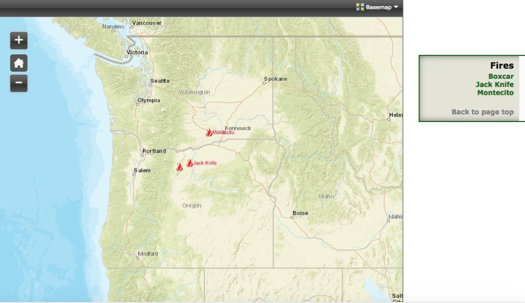 Oregon Wildfires 6.28.19