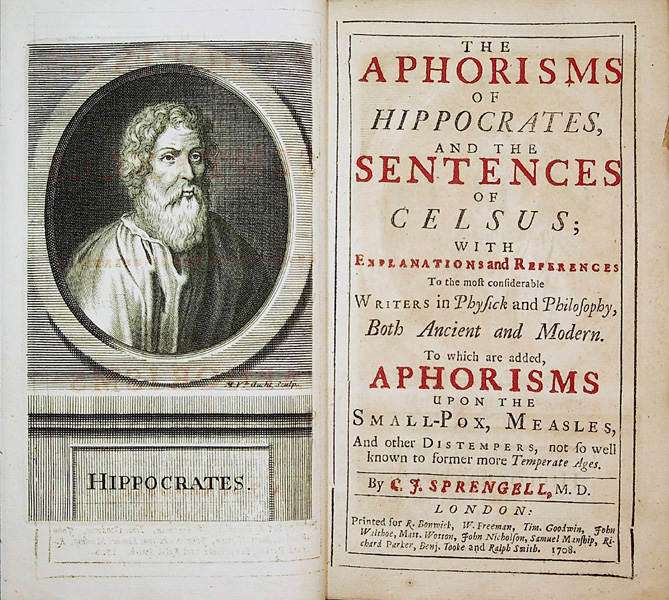 Hippocrates And Selsus
