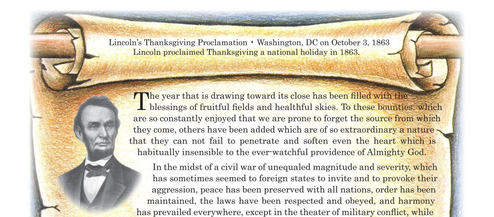 Lincoln & Thanksgiving Day