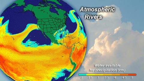 Atmospheric River Globe View