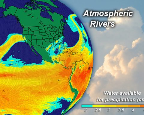 Atmospheric River Globe View
