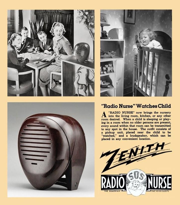 Zenith Radio Nurse